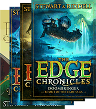 Image of The Edge Chronicles books